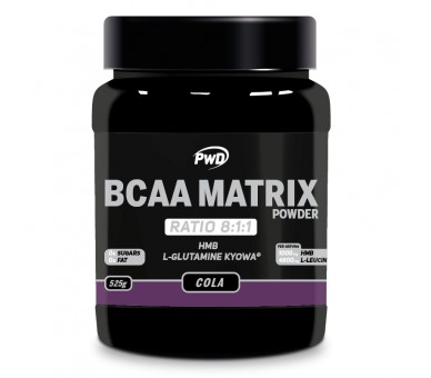 Bcaa's Matrix powder 525g