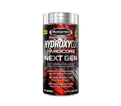 Hydroxycut Hardcore Next Gen 100 caps.