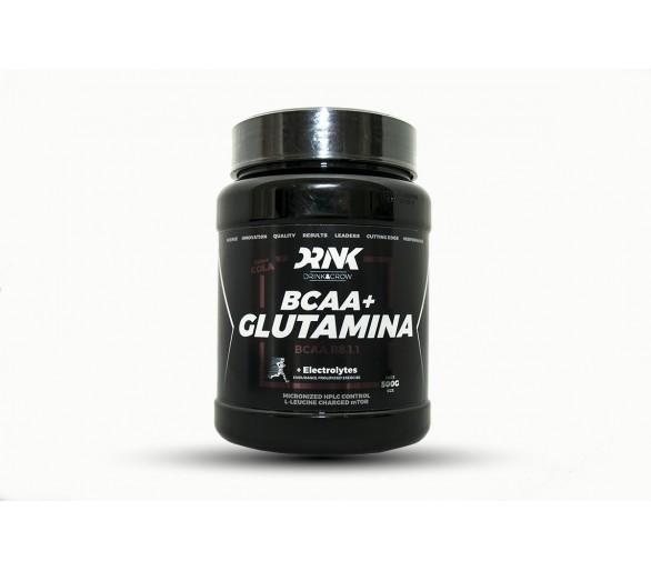 BCAA 8:1:1+Glutamina 500g - DRINK&GROW