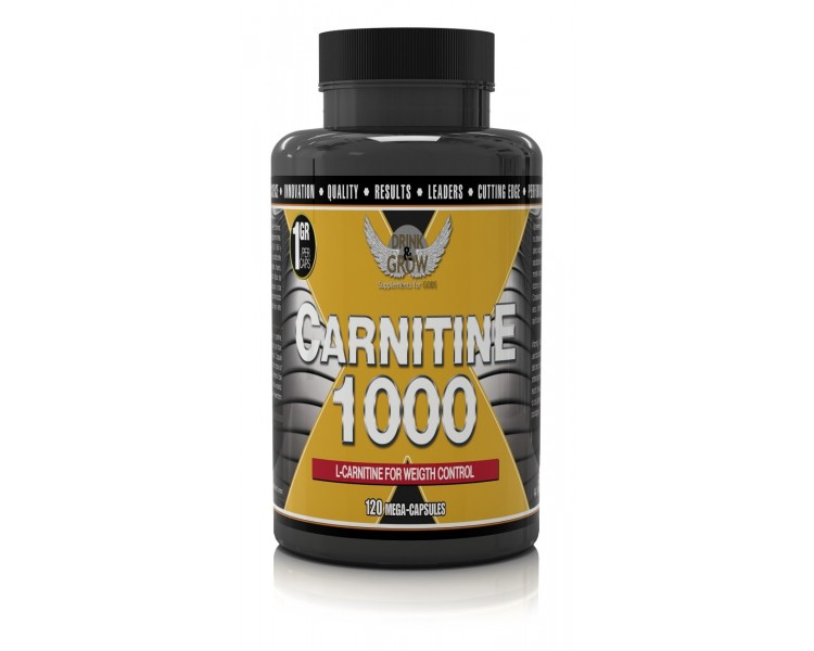 Carnitine 120caps - DRINK&GROW