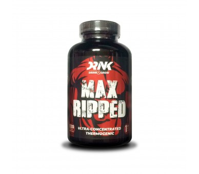 MAX RIPPED 120caps - DRINK&GROW