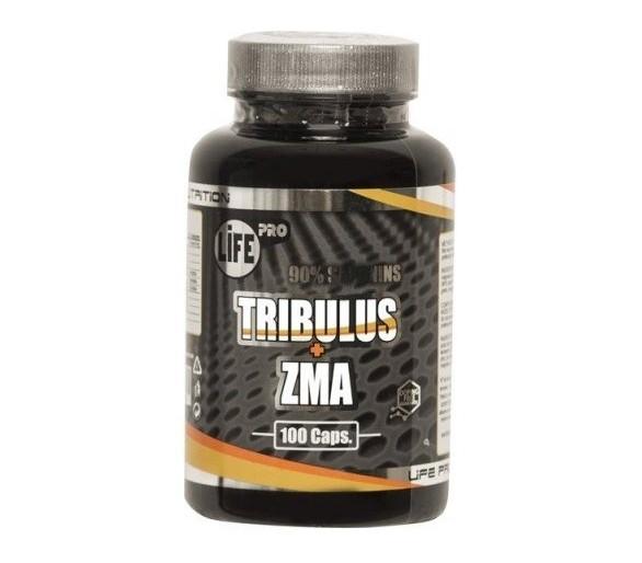 LIFE PRO TRIBULUS + ZMA 100cap