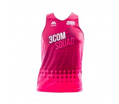 Camiseta de tirantes atletismo - MASC- 3COM Squad