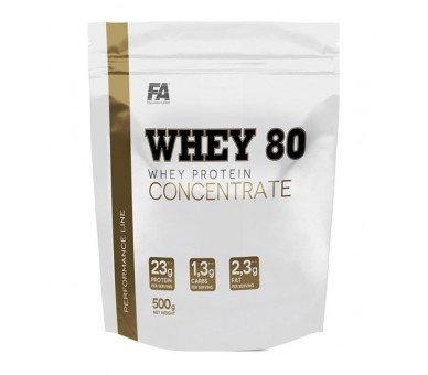 Whey 80 concentrate 500g