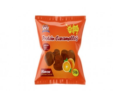 Caramelo proteico